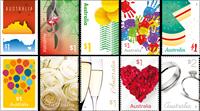 Australia - Love to celebrate - Mint set 10v