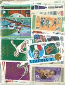 Sommer Olympiade - 400 forskellige frimærker