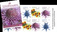 Australia - Wild flowers - Mint booklet