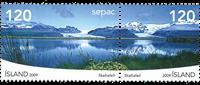 Island - Sepac - Postfrisk sæt 2v