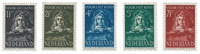 Netherlands 1941 - NVPH 397/401 - Mint