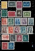 Netherlands 1943/44 - NVPH 404/427 - Mint