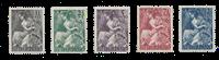 Netherlands 1946 - NVPH 449/53 - Mint