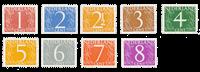 Nederland - 1946/57 - NVPH 460/68 - Postfris