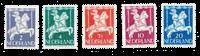 Netherlands 1946 - NVPH 469/73 - Mint