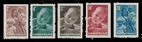 Netherlands 1947 - NVPH 495/99 - Mint