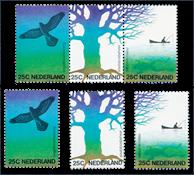 Netherlands 1974 - NVPH 1043/45, 1043/45a - Mint