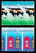 Netherlands 1974 - NVPH 1052 + 1165 - Mint