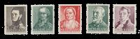 Netherlands 1941 - NVPH 392/96 - Mint