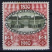 1910 ITÄVALTA - AFA 153 käyttämätön