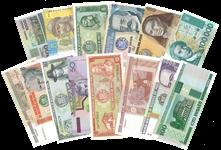 Pengesedler - Mindre samling