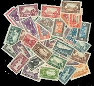 Senegal 43 different stamps