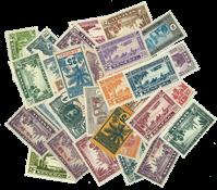 Senegal 30 different stamps