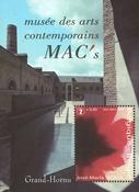 Belgien - J.M.Sicilia - Postfrisk miniark