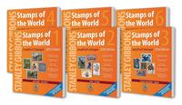 Stanley Gibbons frimærkekatalog - Hele Verden bind  1-6 komplet 2016