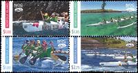 Norfolk Island - Sailing sport - Mint set 4v