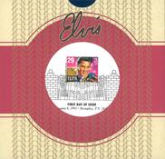 USA - Elvis-merkki ensipäivänleimalla, jännittävä erikoispakkaus