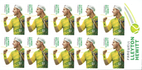 Australia - Legends/Hewitt - Mint booklet