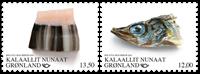 Grønland - Norden - Postfrisk sæt 2v