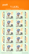 Finland - Easter Bunny - Mint sheetlet of 10