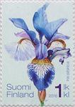 Finland - Sibirisk Iris - Postfrisk frimærke