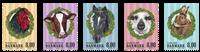 Denmark - Farm Animals - Mint set 5v