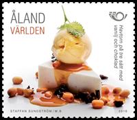 Åland - Nordisk mad - Postfrisk frimærke