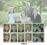 Belgien - Den kongelige familie - Postfrisk miniark