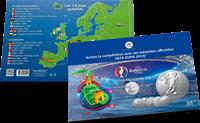 UEFA Euro 2016 - Bel album avec médailles - Version en francais