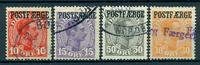 Danmark - Postfærge - 1919-22