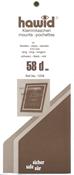 KLEMLOMMER 58 MM SORT PAKNING