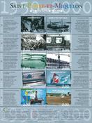 Saint Pierre et Miquelon - Begivenheder - Postfrisk småark