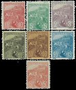 Monaco - YT 27-33 - Mint