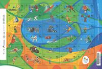 Brazil - 2016 Olympic mint sheetlet - 30 x 1,40 R$