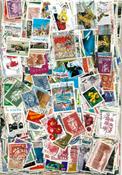 1000 francobolli differenti qualità superiore Norvegia