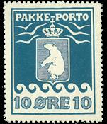 Greenland - Parcel stamp - AFA no. 3