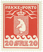 Grønland - Pakkeporto - AFA nr. 9