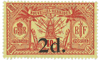 New Hebrids - YT 68 mint