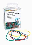 Gummibånd - Forskellige farver