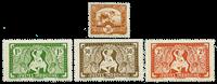 Indokiina - YT 232-35 Postituore