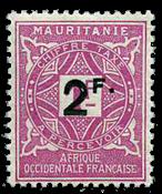 Mauretanien - YT 25 portomærke