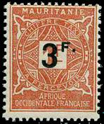 Mauretanien - YT 26 portomærke