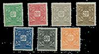 Mauretanien - YT 17-27 portomærker
