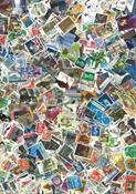 Englanti - postimerkkipakkaus - 1000 erilaista