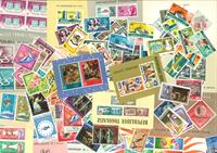 Togo - 163 frimærker. + 15 m/s - Postfrisk