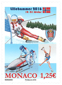 Monaco - Olympic Youth Games - Mint stamp