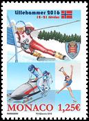 Monaco - Ungdoms OL - Postfrisk frimærke