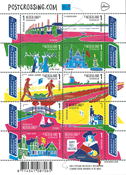 Holland - Postcrossing - Postfrisk ark