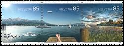 Schweiz - Lake Constance - Postfrisk sæt 3v