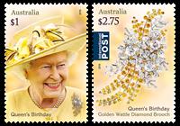 Australien - Dr.Elizabeth - Postfrisk sæt 2v